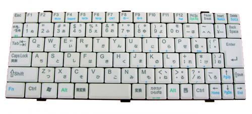 日立:Prius gear150H用 ノートパソコン キーボード 新品 グレー K022330C1 〔対応機種〕・Prius gear150H