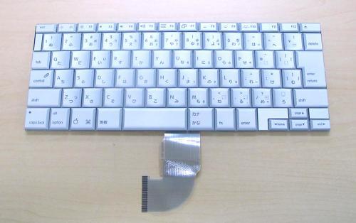 Apple:Powerbook G4 17インチ用 ノートパソコン キーボード 新品 シルバー 〔対応機種〕・Powerbook G4 17インチ