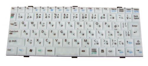 富士通:LOO XT50H等用 ノートパソコン キーボード 新品 グレー K022333K1 〔対応機種〕・MV-BIBLO LOO XT50Hなどに対応