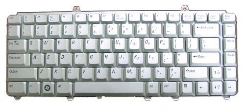 DELL: x PS M1520・M1420用 ノートパソコン キーボード 新品 シルバー NSK-D9K01 〔対応機種〕・ XPS M1520・M1420