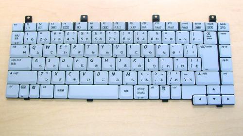 HP:ノートパソコン 用 キーボード 新品 グレー AECT1TPJ023 〔対応機種〕・Compaq NX4800シリーズ/・Compaq NX4820シリーズ