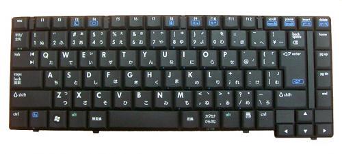 HP:ノートPC 6515B /6510B用 ノートパソコン キーボード 新品 黒 V070526AJ1 〔対応機種〕・ノートPC 6515B 6510B