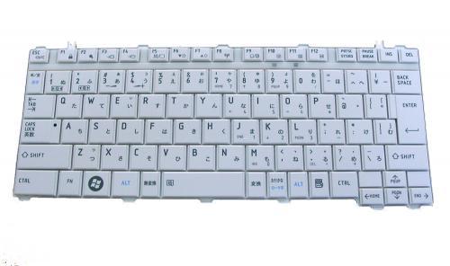 東芝 CX/47KWH 等用 ノートパソコン キーボード 新品 白 V101446BJ1 〔対応機種〕・CX/47KWH