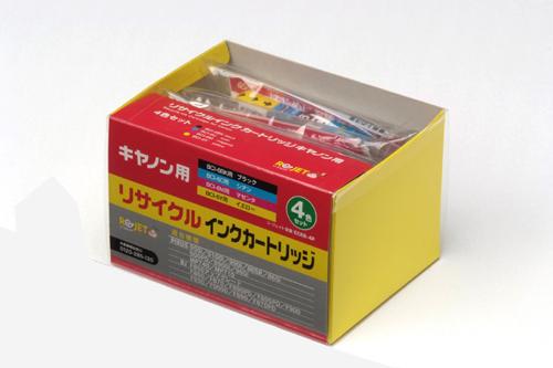 CANON リサイクルインクカートリッジ BCI-6BK/C/M/Y 4色BO x ブラック&カラー計4色 3個セット 〔対応機種〕・PIXUS MP710/740/560i/860i/865R/900PD