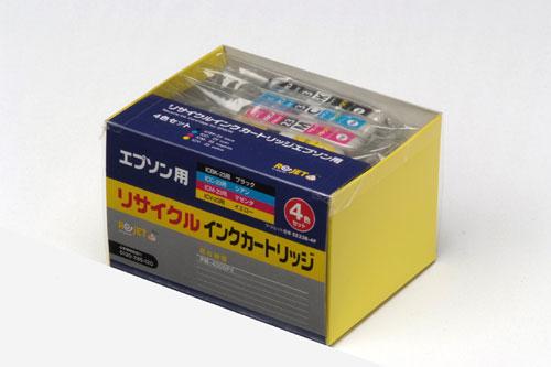 EPSON リサイクルインクカートリッジ ICBK/C/M/Y23 4色BO x ブラック&カラー 〔対応機種〕・PM-4000PX