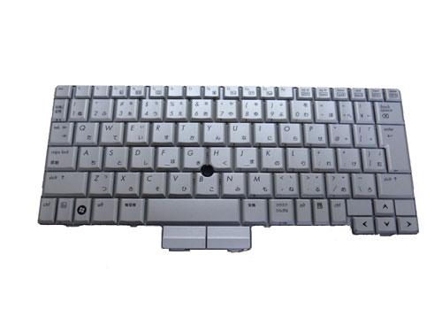 HP:EliteBook 2740P/2730P/2710P等用 ノートパソコン キーボード V070130BJ2 シルバー