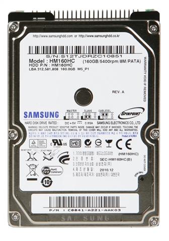 SAMSUNG HM160HC ノートPC内蔵用 2.5インチHDD 【RI942】