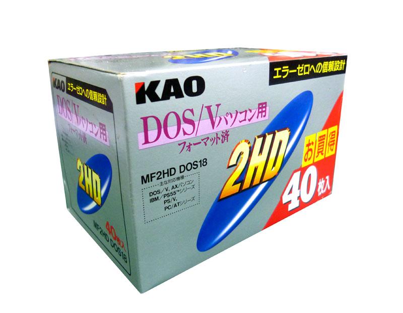 花王 MF2HD DSV K40PNK DOS/V用2HD 紙パック40枚入り 【4901301035714】