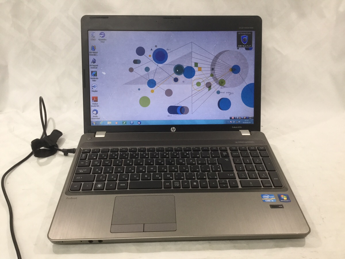 【限定品】【1品限り】HP ProBook 4530s LW997PA#ABJ Windows7 Professional 32bit Core i5-2410M 2.30GHz 高速4GB! 大容量250GB ショップ イチオシ☆