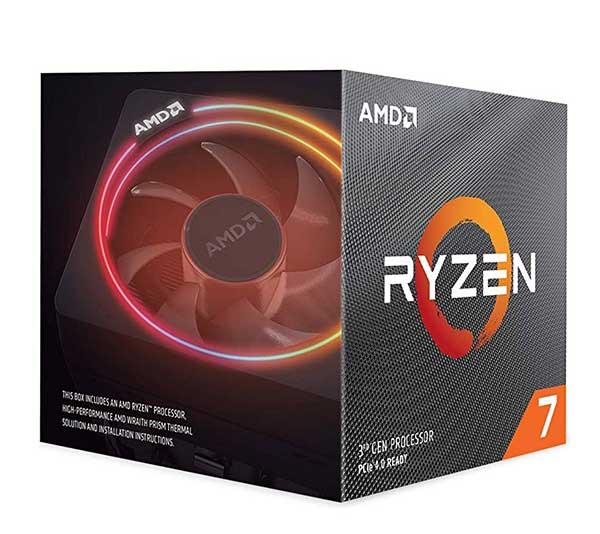 AMD Ryzen 7 3800X ソケットAM4 4.0GHz 8コア Wraith Prism cooler 100-100000025BOX