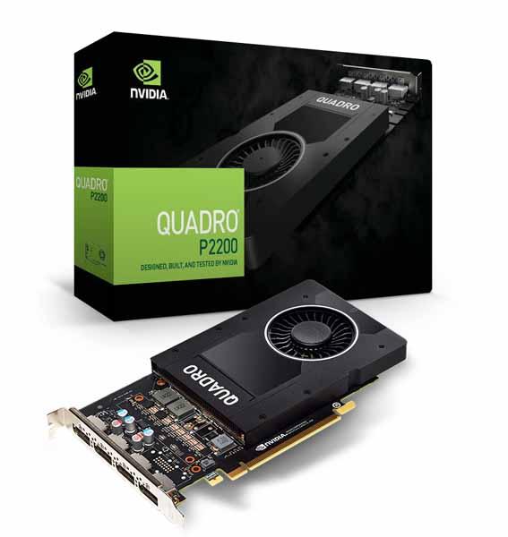 タイムセール 宅配便送料無料 ELSA NVIDIA Quadro P2200 4画面同時出力対応グラフィックカード EQP2200-5GER