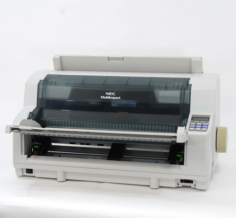 【中古】NEC ドットインパクトプリンター MultiImpact700JX3N 伝票 複写 水平型