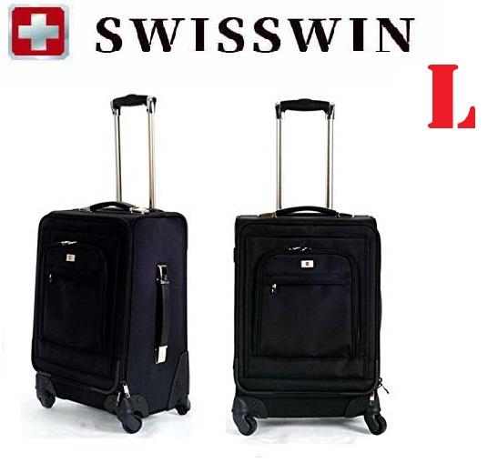 【送料無料】SWISSWIN スイスウィン スーツケース SW9718 キャリーケース ビジネスキャリー サイレント機内持ち込み 4輪独立★ L サイズ