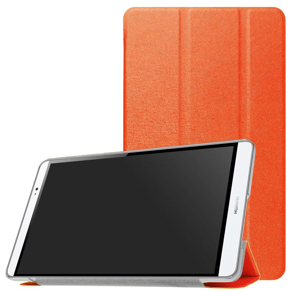 SoftBank MediaPad M3 Lite s 701HW 保障 HUAWEI 8.0 CPN-L09 スタンド機能 8.0専用三つ折スマートクリアカバー☆超薄 ついに再販開始 CPN-L09専用 軽量型 全13色 高品質PUレザーケース