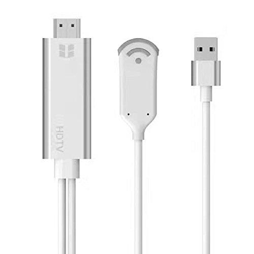 遊び 仕事両用可☆スマートフォン タブレットのオンライン映像 音楽などを大画面テレビで簡単に楽しめる 送料無料 年末年始大決算 HDMI WiFiディスプレイ iOS Android Windows MAC ドングルレシーバー OSシステム通用HDMI Wi-Fi 1080P 激安卸販売新品 HDTV USB 変換 ケーブル Cable Adapter