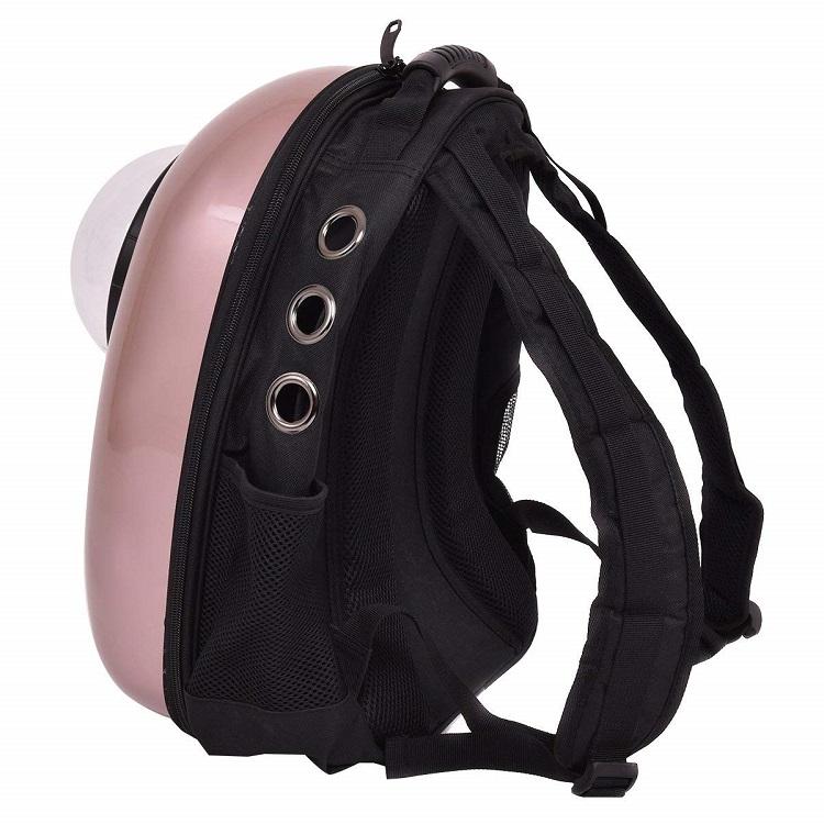 ペットバッグ ペット用キャリーバッグ 宇宙船カプセル型ペットバッグ 猫用 犬用 抱っこバッグ リュック型ペットキャリー 人気ペット鞄
