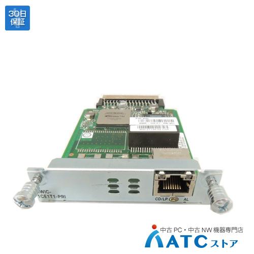 【中古】HWIC-1CE1T1-PRI[Cisco][モジュール][HWIC]