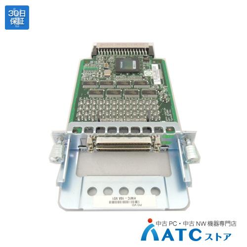 【中古】HWIC-16A[Cisco][モジュール][HWIC]