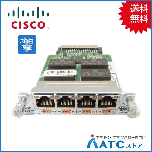 【中古】HWIC-4B-S/T[Cisco][モジュール][HWIC]