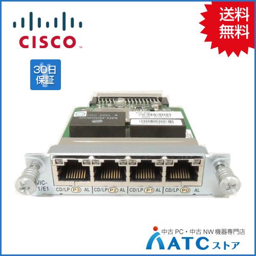 【中古】HWIC-4T1/E1[Cisco][モジュール][HWIC]