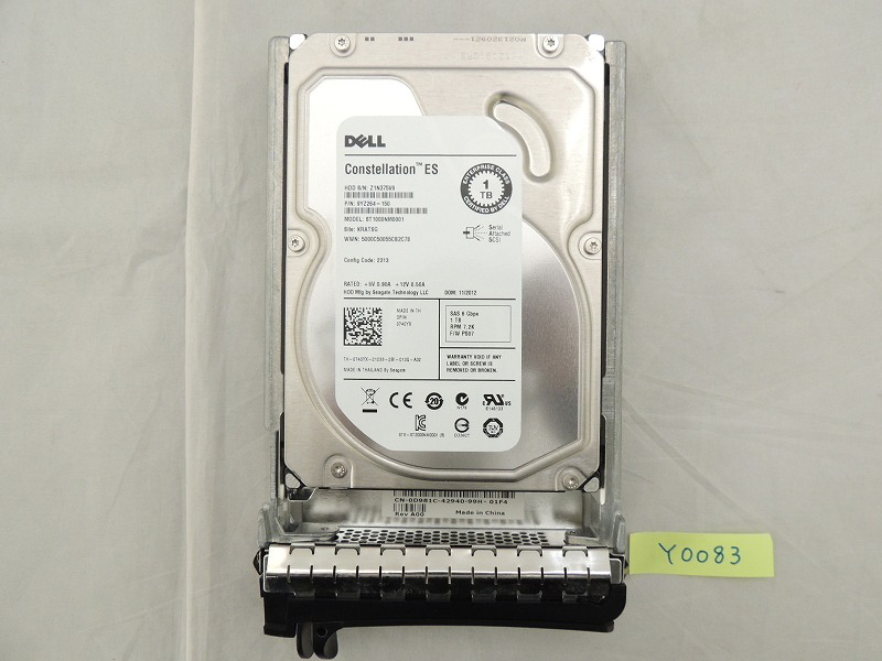 【中古】DELL 740YX サーバー パーツ HDD [DELL][パーツ]
