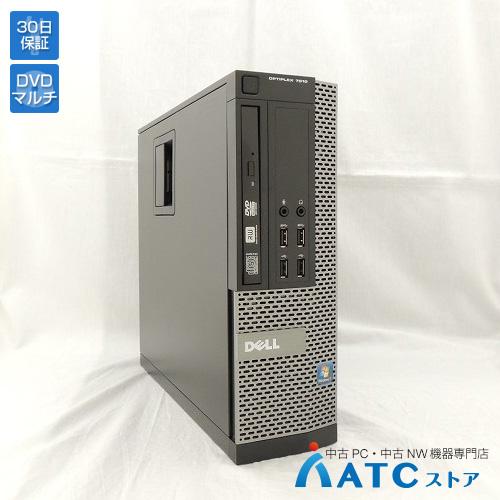 【中古デスクトップパソコン】DELL/OptiPlex 7010/Core i5-3570 3.4GHz/HDD 500GB/メモリ 4GB/Windows 7 Professional 32bit【良】