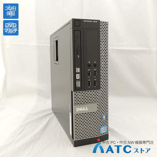 【中古デスクトップパソコン】DELL/OptiPlex 7010/Core i5-3570 3.4GHz/HDD 500GB/メモリ 4GB/Windows 7 Professional 32bit【優】