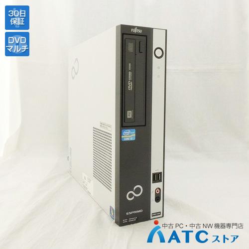 【中古デスクトップパソコン】FUJITSU/ESPRIMO D581 DX/FMVXD4TL2Z/Core i5-2400 3.1GHz/HDD 250GB/メモリ 4GB/Windows 7 Professional 64bit【良】
