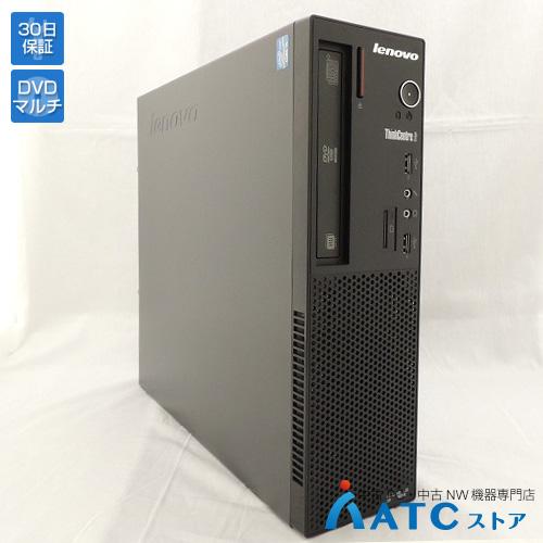 【中古デスクトップパソコン】Lenovo/ThinkCentre Edge72 Small/3493JDJ/Core i5 3470S 2.9G/HDD 500GB/メモリ4GB/Windows 8 Professional 64bit【良】
