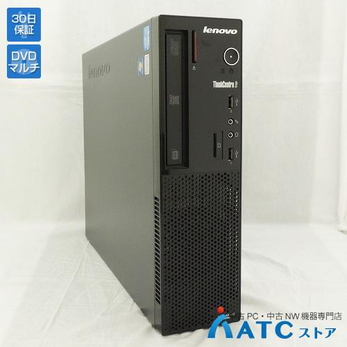 【中古デスクトップパソコン】Lenovo/ThinkCentre Edge71 Small/1578A5J/Core i3-2100 3.1G/HDD 320GB/メモリ 2GB/Windows 7 Professional 32bit【良】