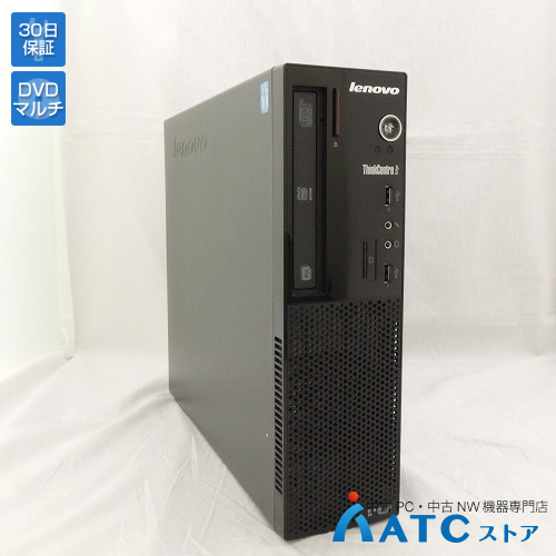 【中古デスクトップパソコン】Lenovo/ThinkCentre Edge72 Small/3493LWJ/Core i5-3470S 2.9GHz/HDD 500GB/メモリ 4GB/Windows 7 Professional 32bit【良】