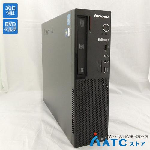【中古デスクトップパソコン】Lenovo/ThinkCentre Edge71 Small/1578A6J/Core i3-2100 3.1GHz/HDD 320GB/メモリ 2GB/Windows 7 Professional 32bit【良】