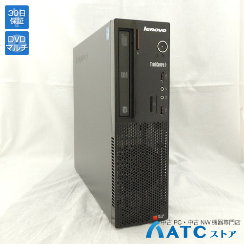 【中古デスクトップパソコン】Lenovo/ThinkCentre Edge72 Small/3493LSJ/Core i3-3240 3.4GHz/HDD 320GB/メモリ 2GB/Windows 7 Professional 32bit【良】
