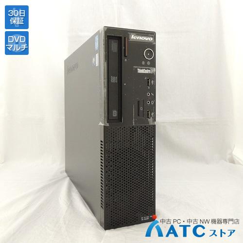 【中古デスクトップパソコン】Lenovo/ThinkCentre Edge71 Small/1578A5J/Core i3-2100 3.1GHz/HDD 320GB/メモリ 4GB/Windows 7 Professional 32bit【良】