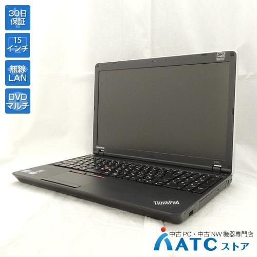 【中古ノートパソコン】Lenovo/ThinkPad Edge E520/11439EJ/15.6インチ/Core i5-2410M 2.3GHz/HDD 500GB/メモリ 4GB/Windows 7 Professional 32bit【良】