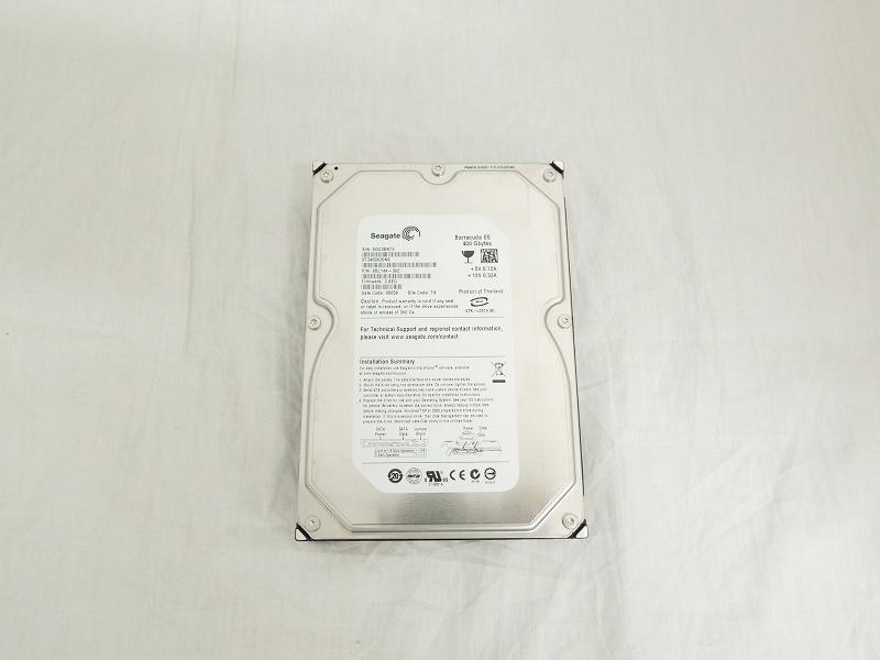 【中古】Seagate 400GB 7.2K 16MB SATA 3.5インチ ハードディスク[Seagate][HDD]