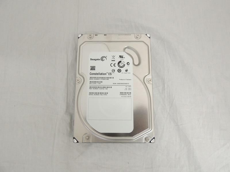 【中古】Seagate 500GB 7.2K 32MB SATA 3.5インチ ハードディスク[Seagate][HDD]