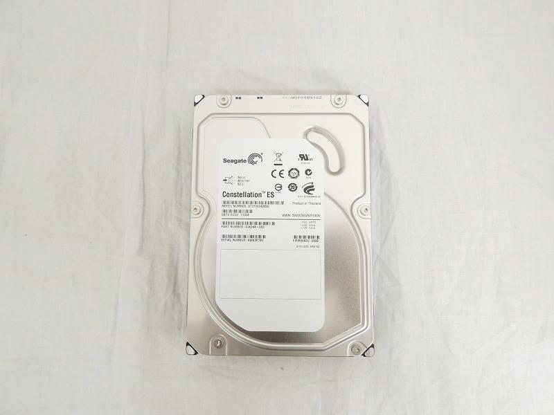 【中古】Seagate 1TB 7.2K 16MB SAS 3.5インチ ハードディスク[Seagate][HDD]