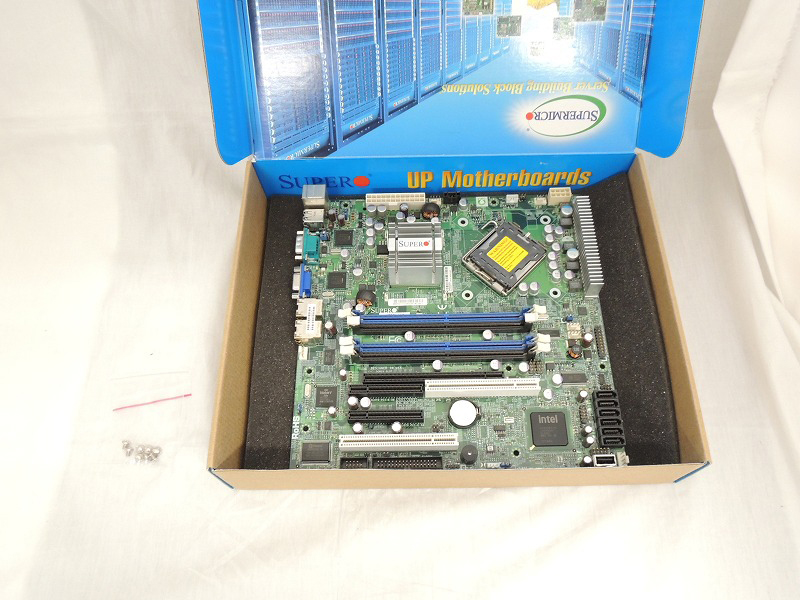 【中古】Supermicro X7SBL-LN2 Motherboard[Supermicro][MB][マザーボード]