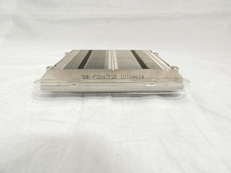 【中古】Supermicro 1U Passive CPU Heat Sink Socket LGA1155/1150[Supermicro][パーツ]