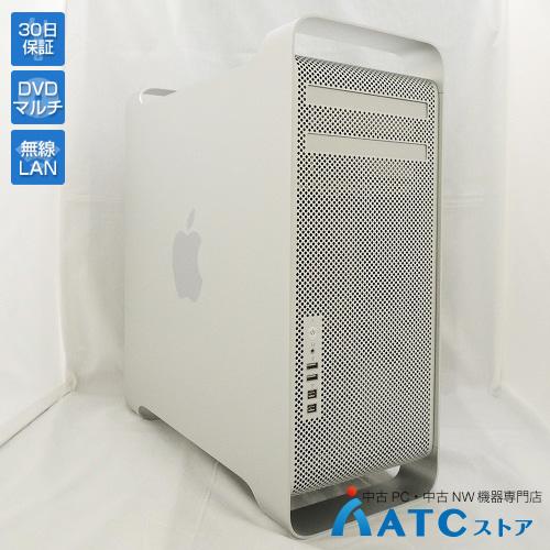 【中古デスクトップパソコン】Apple/Mac Pro/MD772J/A/Quad-Core Intel Xeon 3.2GHz/メモリ 32GB/HDD 1TBx2/2層記録対応18倍速SuperDrive/OSなし【良】