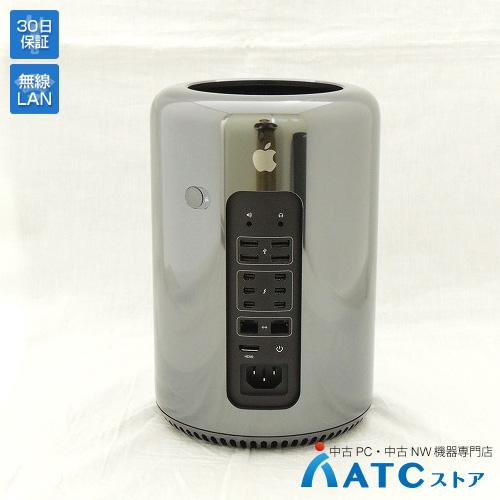 【中古デスクトップパソコン】Apple/Mac Pro/MQGG2J/A/Xeon E5 3.0GHz(8コア) /SSD 256GB/メモリ 16GB/Mac OS X 10.13【優】