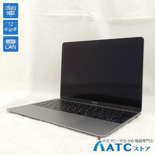 【中古ノートパソコン】Apple/MacBook Retina/MNYF2J/A/Core m3 1.2GHz/SSD 256GB/メモリ8GB/12.0インチ/Mac OS X 10.12【良】