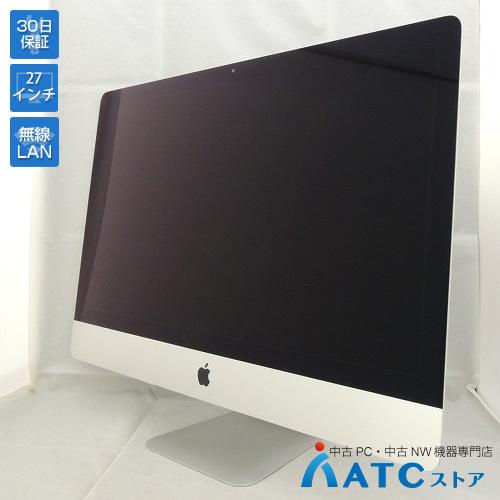 【中古デスクトップパソコン】Apple/iMac/ME088J/A/Core i5 3.2GHz/HDD1TB/メモリ16GB/27インチ/Mac OS X 10.9【良】