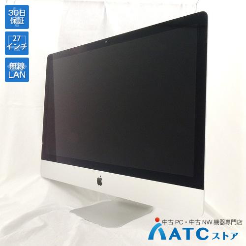 【中古デスクトップパソコン】Apple/iMac/ME088J/A/Core i5 3.2GHz/HDD1TB/メモリ16GB/27インチ/Mac OS X 10.10【可】