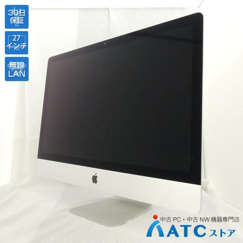 【中古デスクトップパソコン】Apple/iMac/MK462J/A/Core i5 3.2GHz/HDD 1TB/メモリ 32GB/27インチ/Mac OS X 10.11【可】