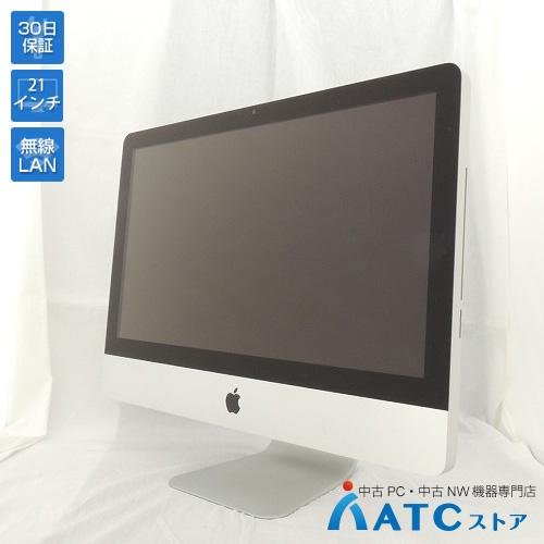 【中古デスクトップパソコン】Apple/iMac/MB950J/A/Core2Duo 3.06GHz/HDD 500GB/メモリ 4GB/21.5インチ/Mac OS X 10.6【可】