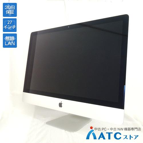 【中古デスクトップパソコン】Apple/iMac Retina 5K/MK472J/A/Core i5 3.2G/1TB Fusion Drive/メモリ 32GB/Mac OS X 10.11【可】