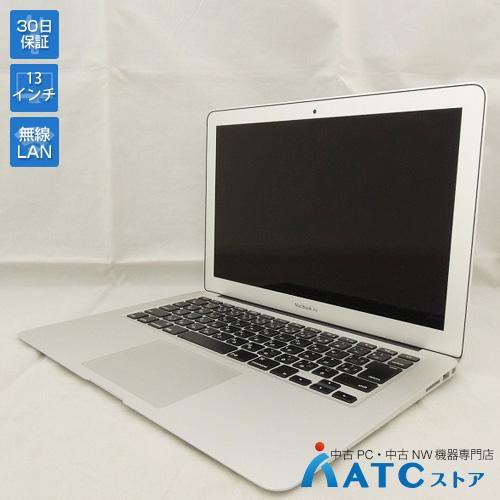 【中古ノートパソコン】Apple/MacBook Air/MMGF2J/A/Core i7 2.2G/SSD 128GB/メモリ8GB/13.3インチ/Mac OS X 10.11【優】
