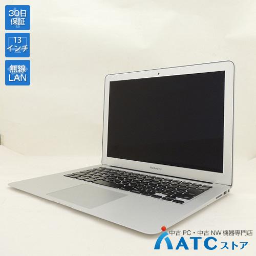 【中古ノートパソコン】Apple/MacBook Air/MMGF2J/A/Core i7 2.2G/SSD 128GB/メモリ8GB/13.3インチ/Mac OS X 10.11【可】
